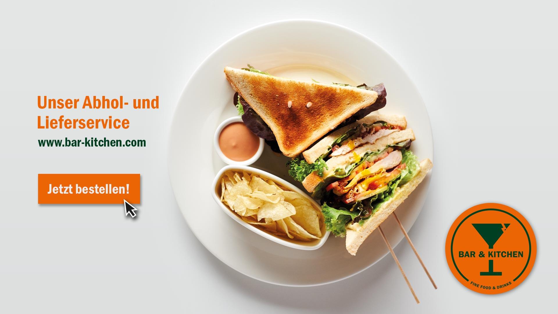 Abhol- und Lieferservice: www.bar-kitchen.com